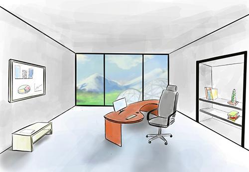 Dein neues Büro wartet auf dich